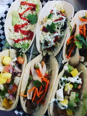 Tinga Tacos offers a wide variety of unique flavors