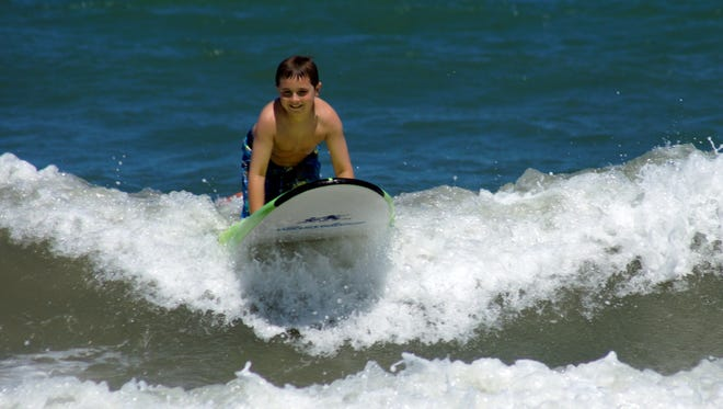 Fun times at the Space Coast Beach Festival presented by Surfers For Autism at Lori Wilson Park in Cocoa Beach on June 17, 2017.