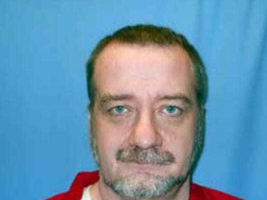 This photo taken on April 16, 2013, and released by the Mississippi Department of Corrections shows death row inmate Charles Ray Crawford in Parchman, Miss