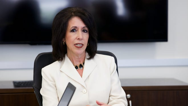 Monroe County Executive Cheryl Dinolfo sat down with the Editorial Board for the first time since she took office in January. Here are some of the things she told us.