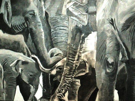 Elephants, by Jim Kozlowski.