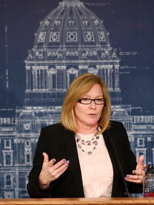 Minnesota Senator President Michelle Fischbach