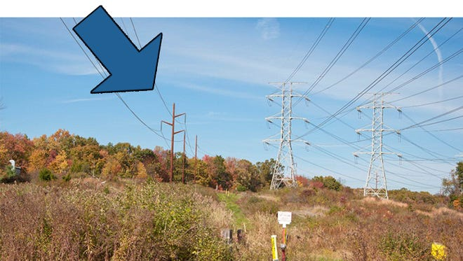 This is what new Central Hudson transmission line poles will look like.