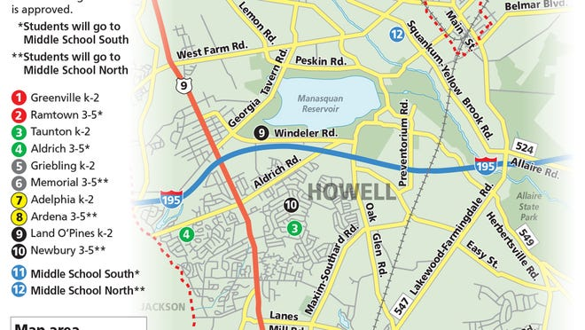 Answers to common questions about the Howell school shuffling proposal.