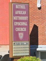 Bethel AME Church at 200 S. Sixth St. in Richmond will