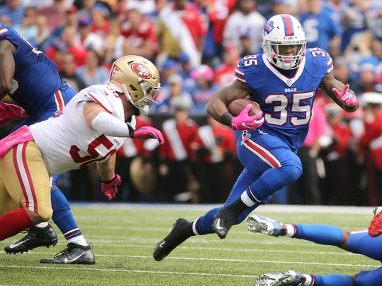 The Bills will probably decline to match the restricted free agent offer sheet Mike Gillislee signed with the Patriots.