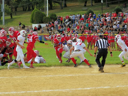 Cliffside Park vs. Ridgefield Park (pictured in 2015) is one of North Jersey's best football rivalries.