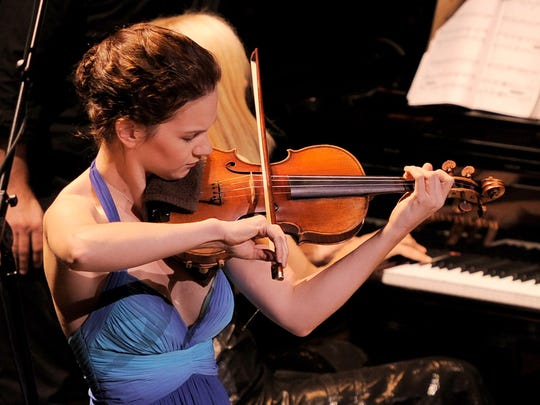 Violinist Hilary Hahn performs at the Orchestra Hall with the DSO on Thursday and Friday.