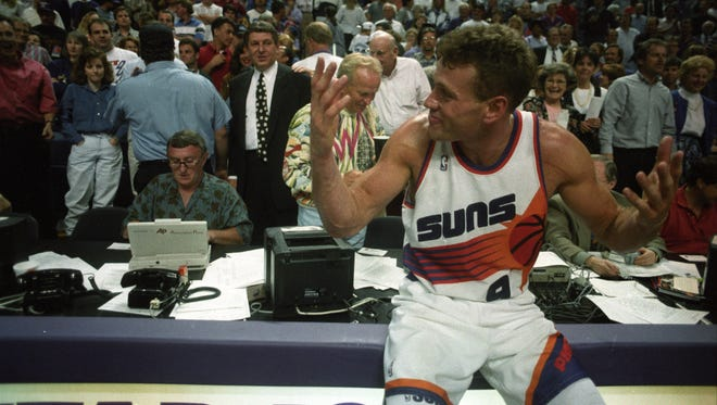After getting drafted in 1988, Dan Majerle walked into the kitchen and for the first time in his life found his father in tears.