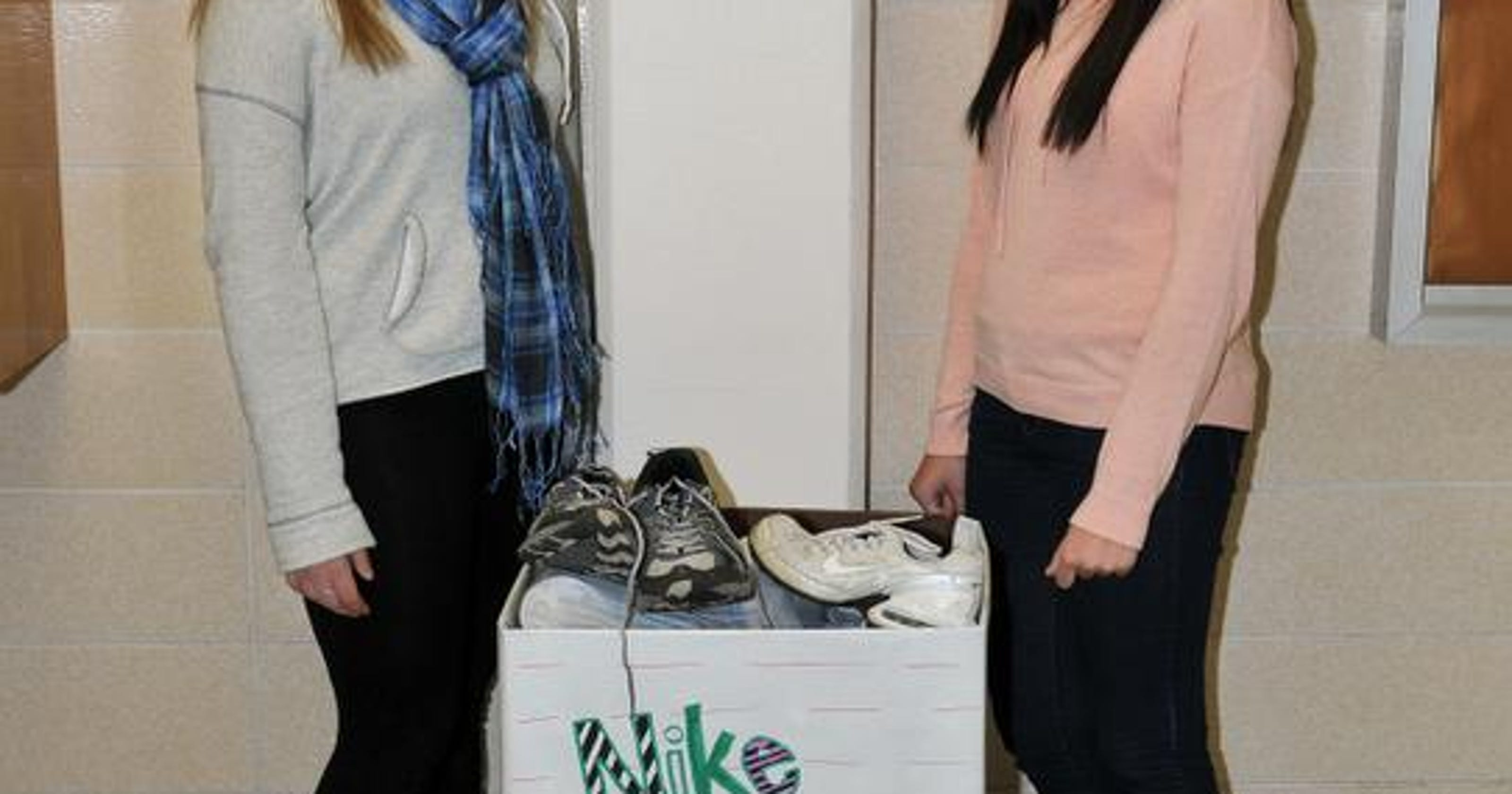 da0dfb36ea7802 Science club wants your old sneakers