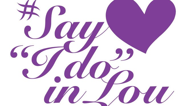 One lucky couple will win an all-expenses paid wedding and reception as part of the Louisville Convention and Visitors Bureau's #SayIdoin Lou contest