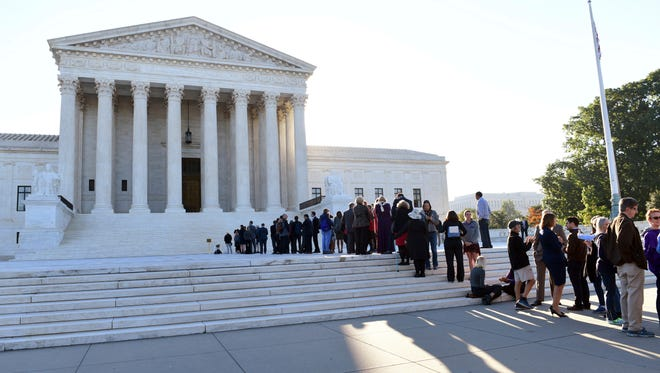 The Supreme Court heard two cases Tuesday testing the reach of the Fourth Amendment's right to privacy.