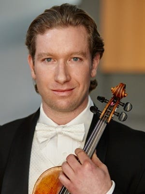 Concertmaster Jonathan Magness will be playing Bach's double violin concerto along with Deborah Serafini when the Minnesota Bach Ensemble performs in St. Cloud.