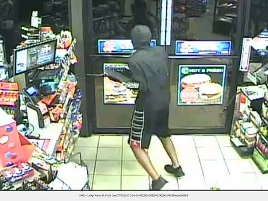 Authorities are investigating an armed robbery at a