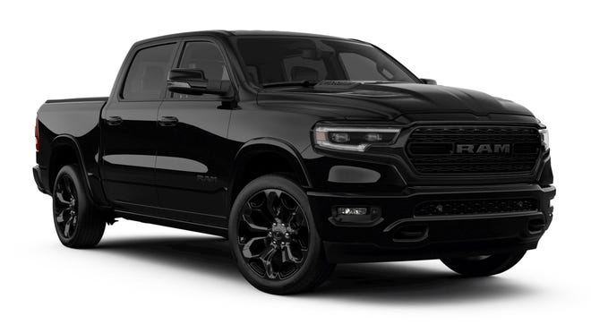 The 2020 Ram 1500 Rebel test model came in the all-black setup as shown.