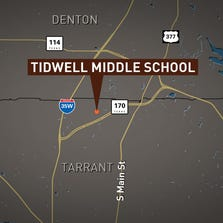 A whooping cough alert was issued for Tidwell Middle School in Roanoke on September 19, 2014.