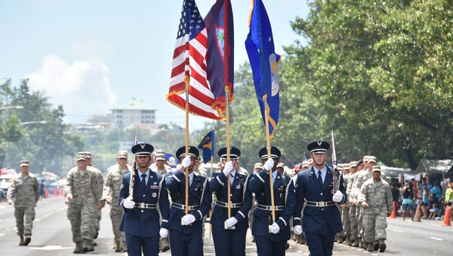 The 71st Liberation Day parade was held Tuesday, July 21.