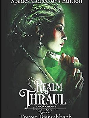"This is the book cover for the ""Realm of Thraul"" book by Pekinite Trever Bierschbach."