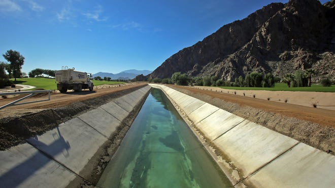 A portion of the All-American Canal that runs through SilverRock Resort in La Quinta was recently repositioned to allow for better water flow. The course made additional changes during the canal construction.