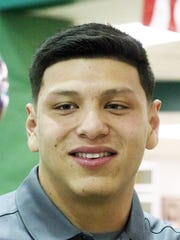 "Robert ""Bobby"" DeHaro of Montwood High School signed to play football at UTEP."