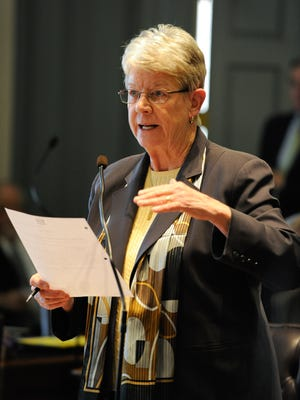 State Sen. Karen Peterson will not seek another term to represent the Stanton area in the state Legislature.
