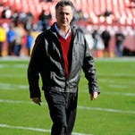 Washington Redskins general manager Bruce Allen is optimistic about future of team.