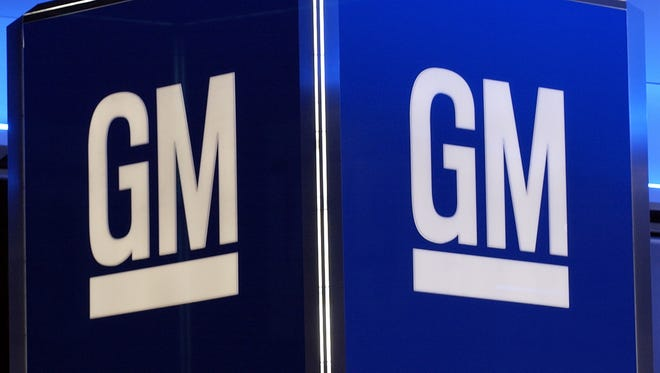 The logo for General Motors Corporation.