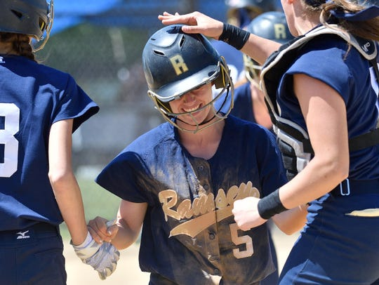 Third baseman Maddie Taradash was one of just two seniors
