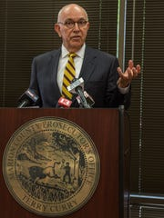 Marion County Prosecutor Terry Curry on Wednesday,