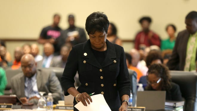 FAMU President Elmira Magnum is voted out, effective immediately, by the University's Board of Trustees.