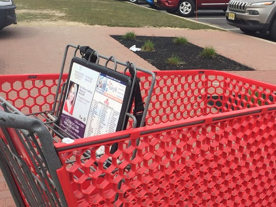 A firm that sells shopping-cart ads went to federal court in Camden to silence a disgruntled former employee.