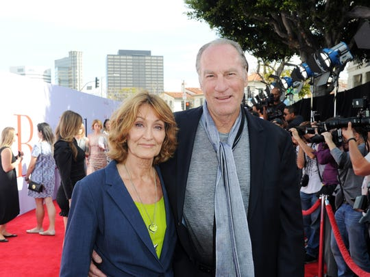 "Craig T. Nelson and his wife, Doria Cook-Nelson, attend the premiere of ""Book Club"" on May 6, 2018."