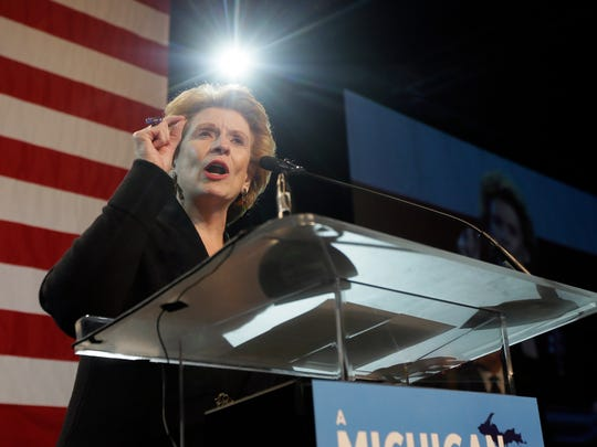 Sen. Debbie Stabenow, D-Mich., is considered an election favorite. Her Republican opponent will be determined in an Aug. 7 primary.