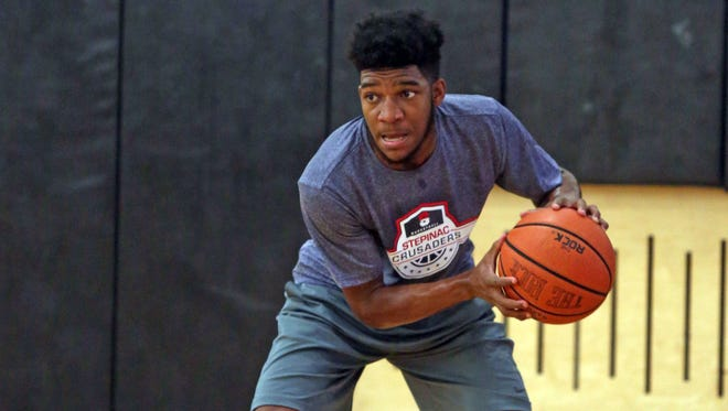 Jorden Means was third-team all-CHSAA last season for Stepinac. The 6-foot-2 swingman is one of this year's Super 7.