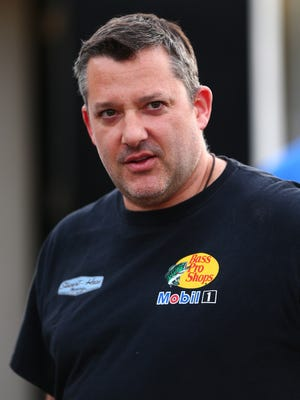 Tony Stewart, shown March 11 at Phoenix International Raceway, has missed the beginning of the Sprint Cup season while recovering from a broken back.