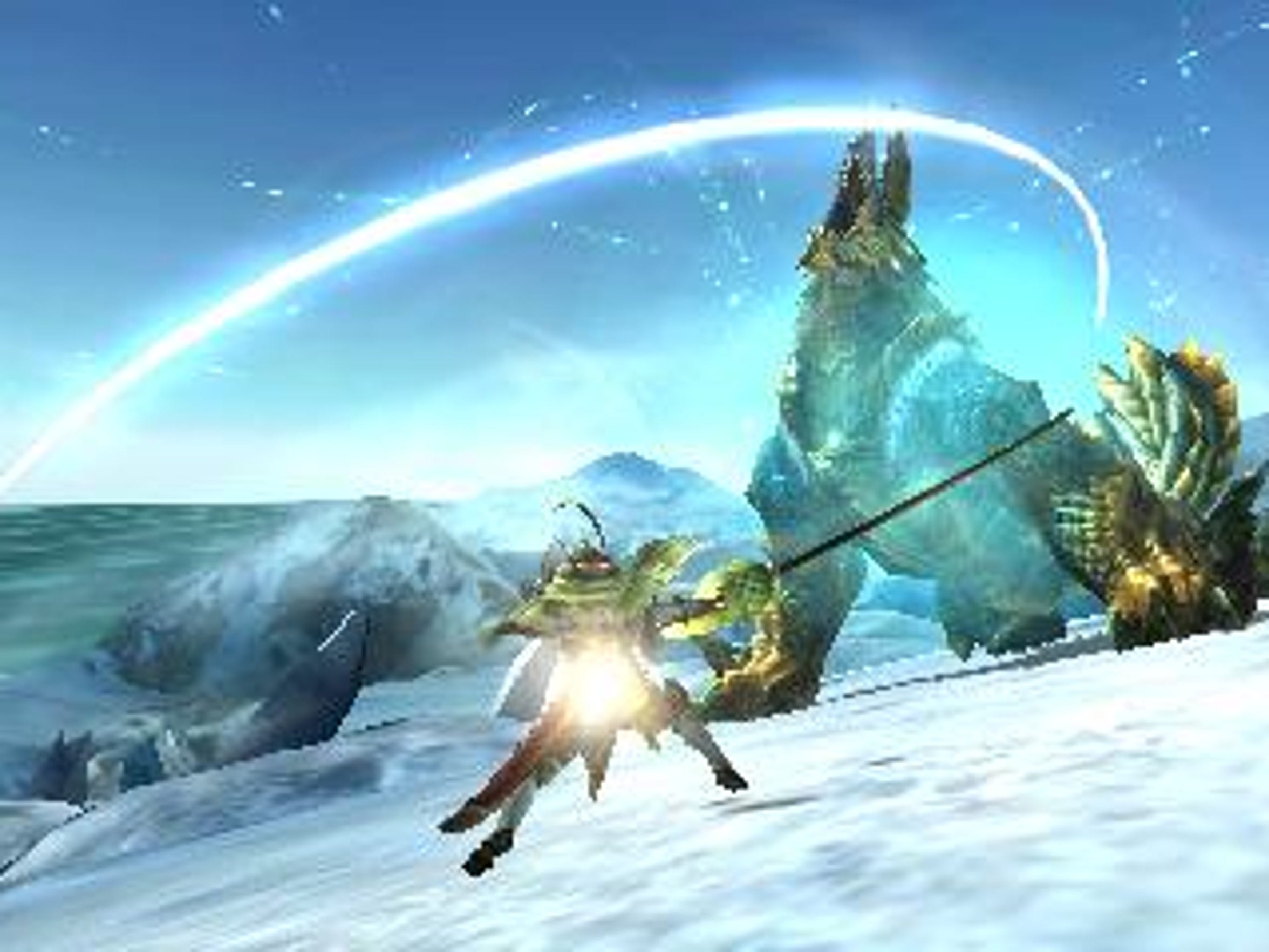"""""""Monster Hunter Generations"""" adds new Hunting Arts"""