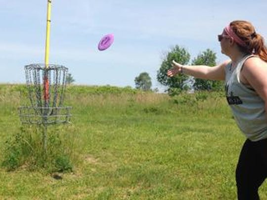 Begg Park in Springfield has an 18-hole disc-golf course