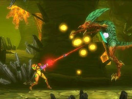 Metroid: Samus Returns, 3DS.