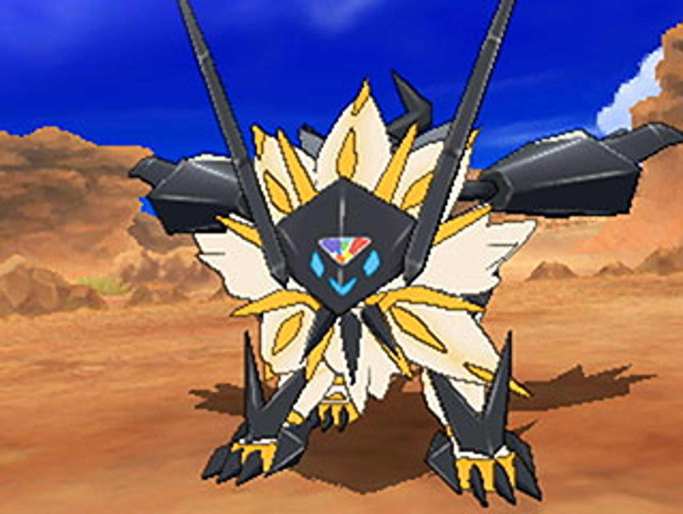 Pokemon Ultra Sun and Moon for the Nintendo 3DS.