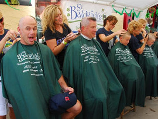 The St. Baldrick's Foundation helps raise funds for