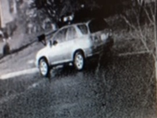 Police are seeking this vehicle in connection with