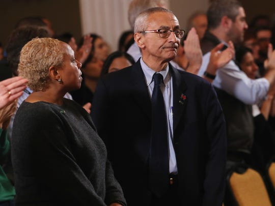 John Podesta, campaign chairman for Hillary Clinton's presidential campaign, said Sunday there may have been collusion between Donald Trump's campaign and the Russian government.