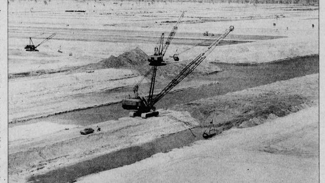 The digging of canals in early Cape Coral sparked environmental changes.