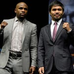 Floyd Mayweather and Manny Pacquiao are set to do battle on May 2.