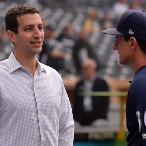 Notes: Brewers GM David Stearns still has faith in pitching despite slide in August