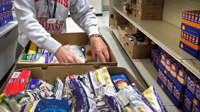 In the past four years, $2.4 million has been distributed to stock the shelves of food pantries through the program.