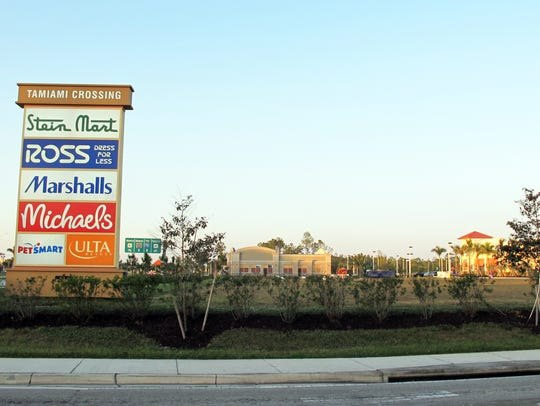 Aldi grocery store will be built on this lot at the Collier Boulevard entrance to Tamiami Crossing retail center on U.S. 41 East.