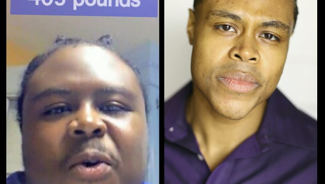 Actor/rapper Douglas Lacey, a native of Bolton, went from 405 pounds to a svelte 235.