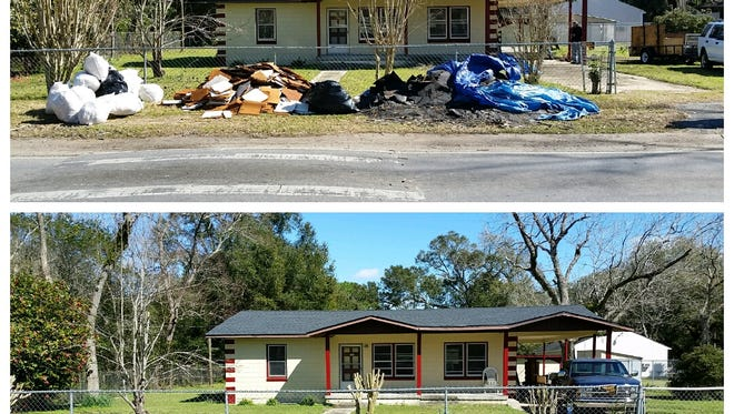 Escambia County announced that it collected and disposed of more than 94 tons of debris during February's Neighborhood Cleanup event.