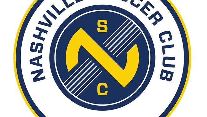 The new logo of Nashville's United Soccer League expansion franchise, Nashville Soccer Club